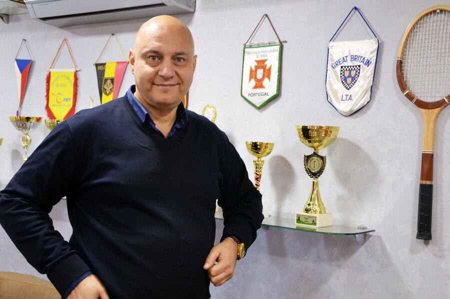Управляющий теннисным клубом - Вишмидт Михаил Валентинович