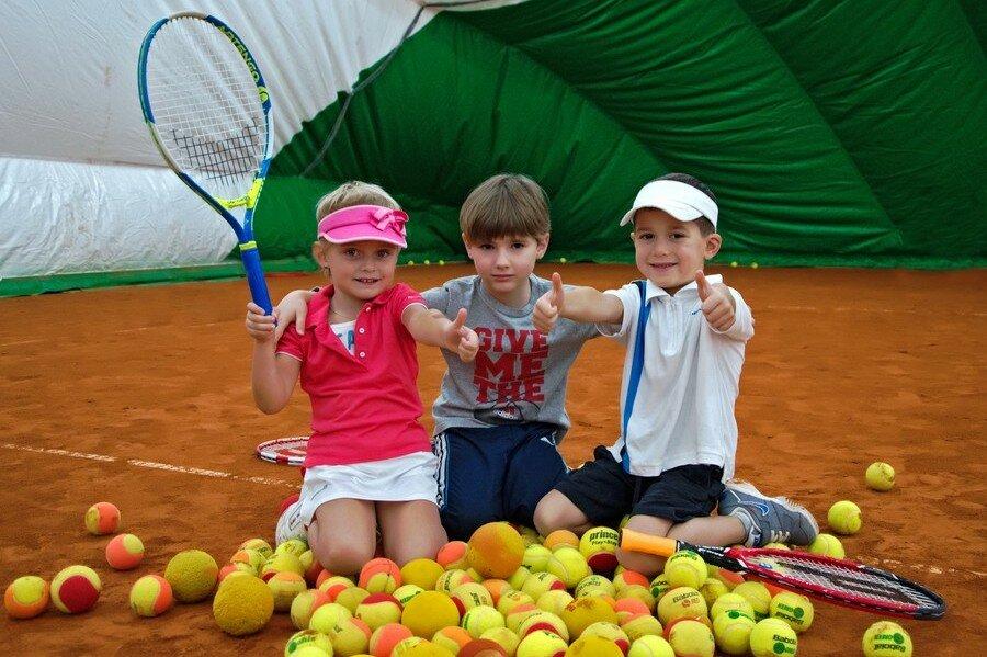 Детская школа тенниса «Ананас» в городе Киеве - Наши детки