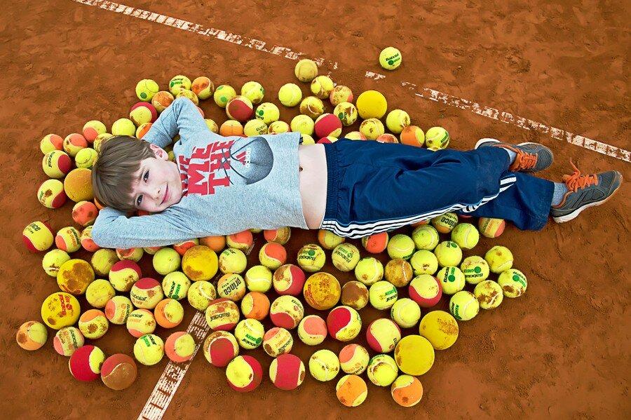 Детская школа тенниса в Киеве - АНАНАС